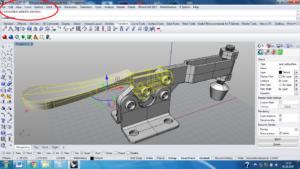 3D моделирование в среде Rhino