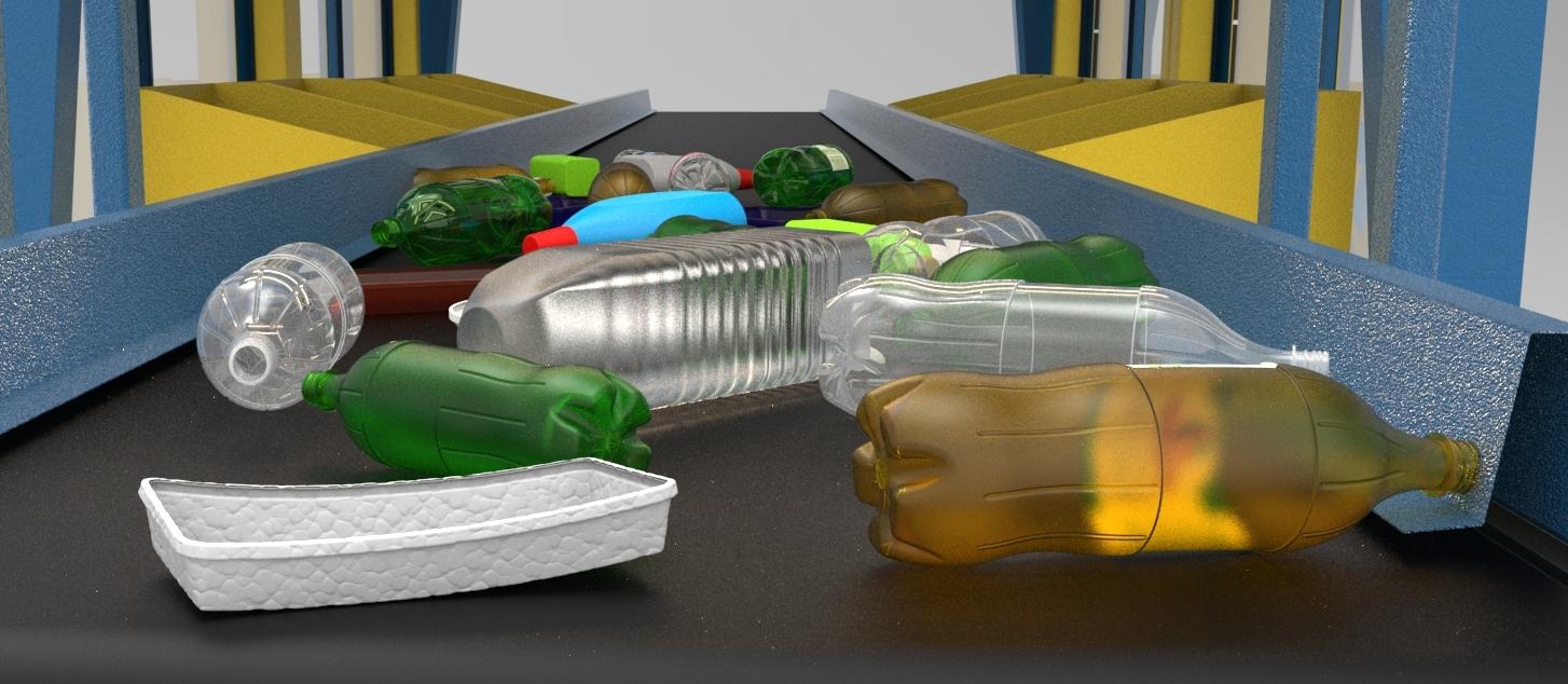 Пластиковые отходы.Сортировка